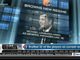 Watch: Evaluating the Browns' draft