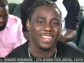 Video - Denard Robinson: 'I'm ready to go to work now'