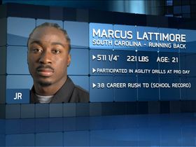 Video - Mike Mayock praises Marcus Lattimore's physical ability
