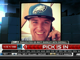Video - Matt Barkley reacts to being drafted by Philadelphia Eagles