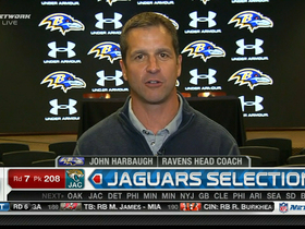 Video - John Harbaugh on Ravens 2013 draft class