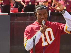Video - Washington Redskins quarterback Robert Griffin III: 'I'll take it slow, but I'm ready to go'
