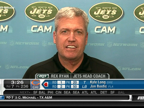 Watch: Rex Ryan: 'We expect these guys to be major contributors'