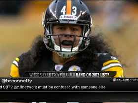 Video - 'Top 100': Troy Polamalu divides the panel