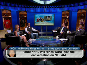Watch: Hines Ward calls in to 'NFL AM'