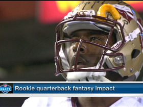 Watch: Which 2013 rookie quarterback holds the most fantasy value?