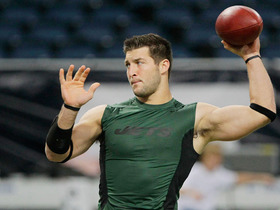 Watch: Tim Tebow, RG3's next backup?