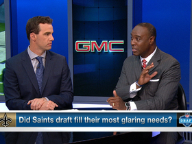 Watch: Saints' draft grade