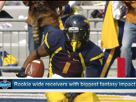 Watch: Biggest fantasy impact: 2013 rookie wide receivers