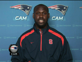 Video - New England Patriots defensive end Chandler Jones 1-on-1