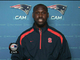 New England Patriots defensive end Chandler Jones one-on-one