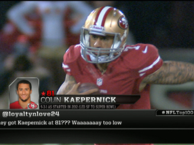 Watch: 'Top 100': Is Kaepernick 14th-best QB in NFL?