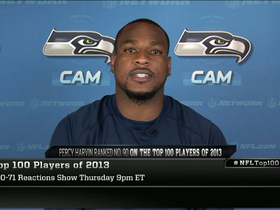 Video - 'Top 100': Percy Harvin reacts to ranking