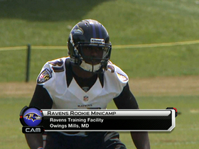 Video - Baltimore Ravens rookies report to rookie minicamp