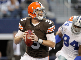 Watch: Is Weeden's starting job in jeopardy?