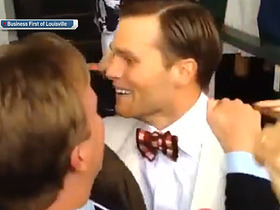 Brady goes bananas at Kentucky Derby