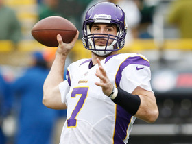 Watch: Pressure on Christian Ponder