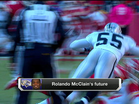 Video - Rolando McClain's future in Baltimore