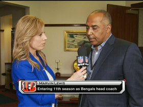 Video - Marvin Lewis one-on-one