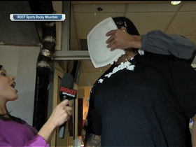 Watch: Eric Decker pie-faces Orlando Franklin