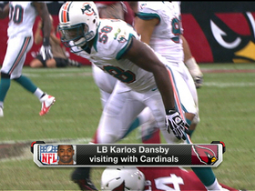 Watch: Karlos Dansby visits Arizona Cardinals