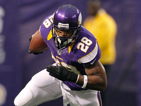 Can Adrian Peterson reach 2,500 yards?