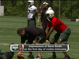 Watch: How did Smith look at Jets' rookie minicamp?