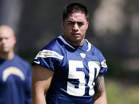 Video - San Diego Chargers rookie Manti Te'o participates in first NFL practice