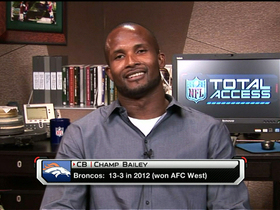 Video - Denver Broncos cornerback Champ Bailey one-on-one