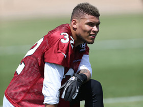 Watch: Mathieu at Cardinals rookie minicamp