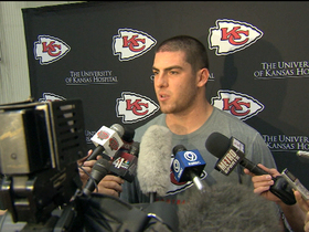 Video - Eric Fisher arrives to Kansas City Chiefs' rookie camp