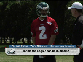 Watch: First impressions of Eagles' rookies