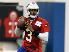 Watch: EJ Manuel hits the field