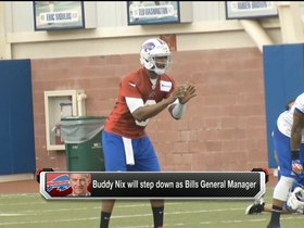 Watch: Buffalo Bills GM Buddy Nix to step down