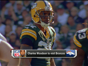 Watch: Broncos bucking up for Woodson?