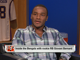 Watch: Giovani Bernard stops by 'NFL AM'