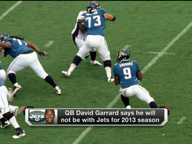 Watch: David Garrard calls it quits with New York Jets