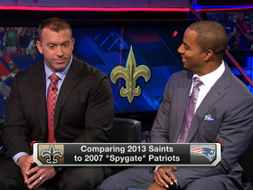 Video - Comparing 2013 New Orleans Saints to 2007 'Spygate' New England Patriots