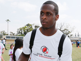 Watch: Jets QB Geno Smith at NFLPA Rookie Premiere