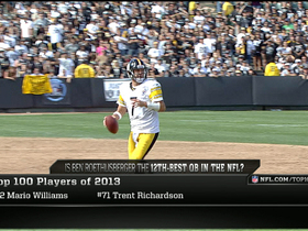 Watch: Reaction to Ben Roethlisberger falling on 'Top 100'