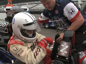 Watch: Chuck Pagano's joyride at the Indianapolis 500