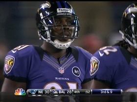 Watch: Flacco incomplete pass to Boldin