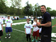 New England Patriots visit Newtown