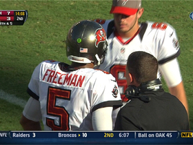 Watch: Freeman incomplete pass to Williams