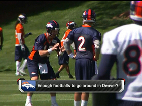Video - Enough footballs to go around in Denver?