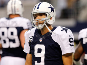 Watch: Romo has cyst on back, will miss Cowboys OTA's