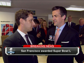 Video - San Francisco awarded Super Bowl L
