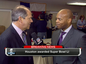 Watch: Houston awarded Super Bowl LI