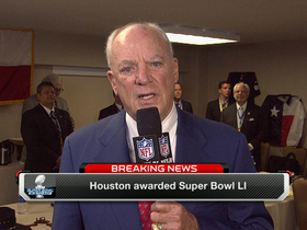 Watch: Texans owner happy to win Super Bowl LI bid
