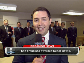 Video - San Francisco 49ers owner Jed York on hosting Super Bowl L